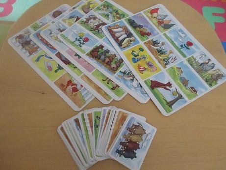 【DWE】カードゲーム「LOTTO CARD」をオールイングリッシュでしよう!